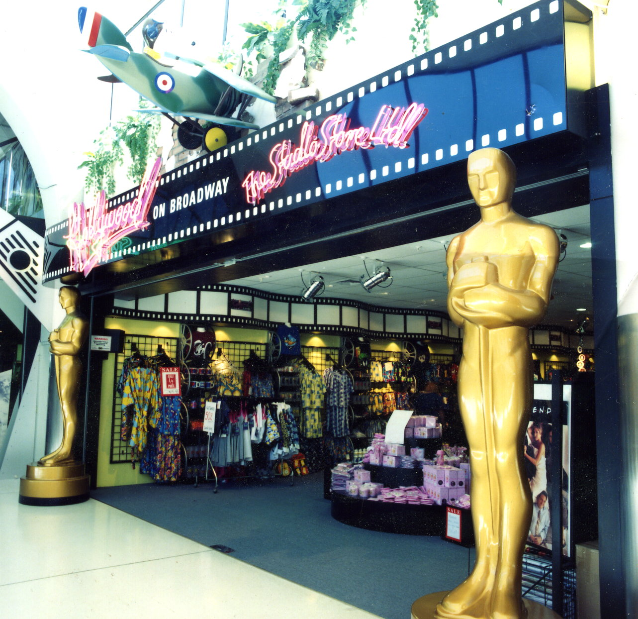 Hollywood shop front