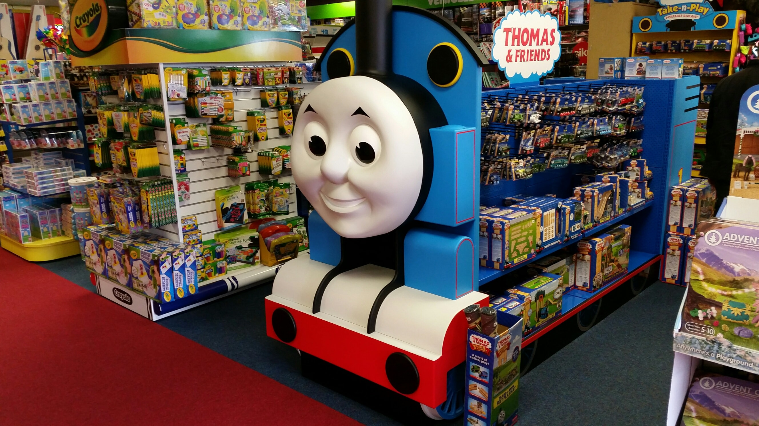 Thomas the Tank display