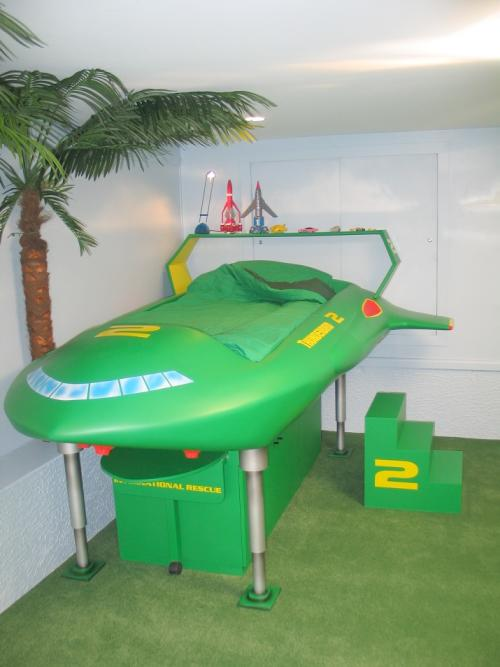 Thunderbirds bedroom makeover